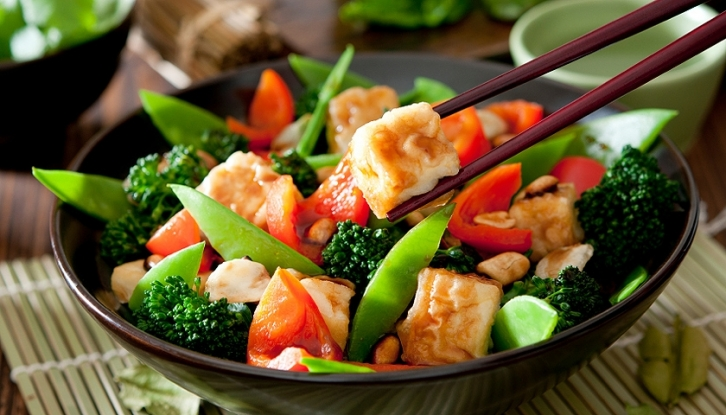 Vegey stir fry