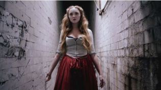 Screenshot from Red Shoes, 2013. Directed by Lorna Tucker (Finished Films), UK.  Fashion Finalist in ASFF 2014.