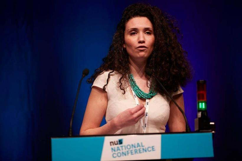 The incoming President of the National Union of Students, Malia Bouattia. Image credit: The Norwich Radical (www.thenorwichradical.wordpress.com)