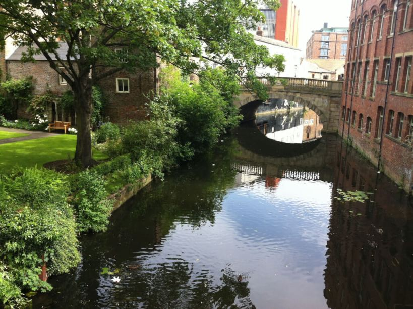 The River Foss. Image credit: Minster FM