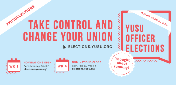 Image credit: the University of York Students' Union