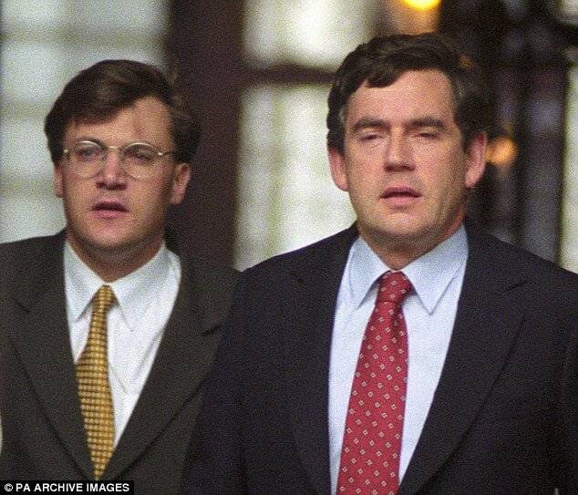Ed Balls and Gordon Brown at the Treasury.