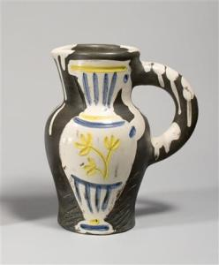 Pitcher with Vase by Picasso