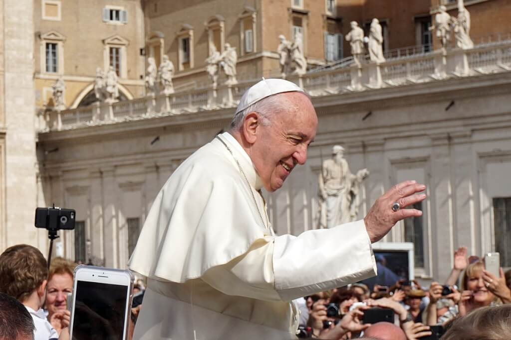 Pope Francis General Audience 2018