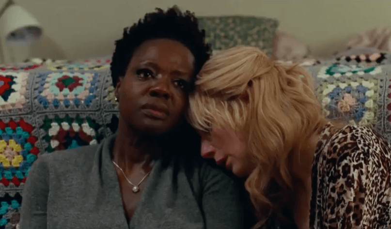 Viola Davies and Elizabeth Debicki in Widows, COS.net