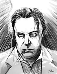 Christopher Hitchens Young