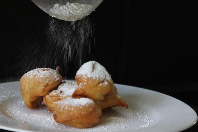 Sprinkle with sugar