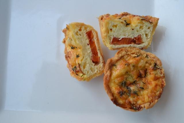 Tomato and Cheese Quiche