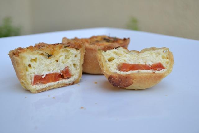 Tomato and Cheddar Quiche
