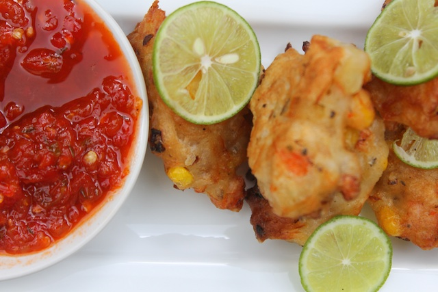 Jamaican codfish fritters