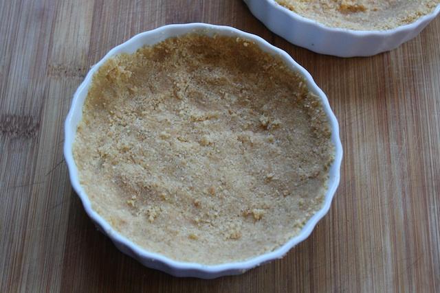 Creme brulee cheesecake crust