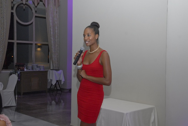 Yours truly talking about Savour Jamaica Supper Club