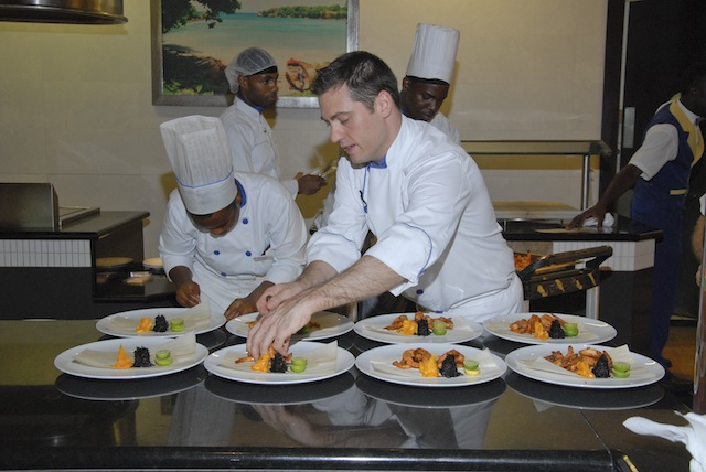 Head Chef at Iberostar Grand Nick Farkas behind the scenes
