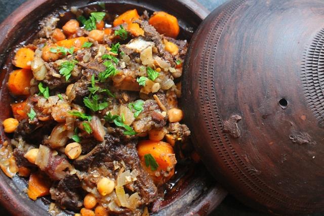 Lamb Tagine (Moroccan Lamb Stew)
