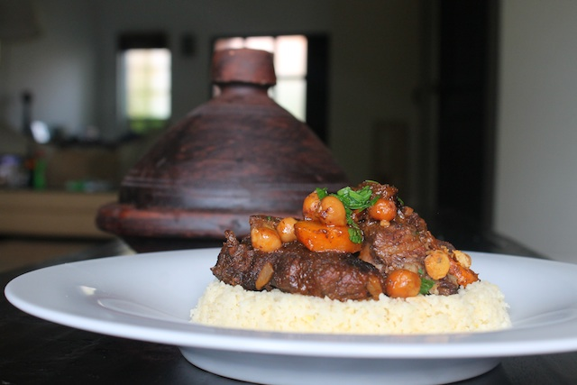 Moroccan Lamb Tagine (Stew) over Couscous