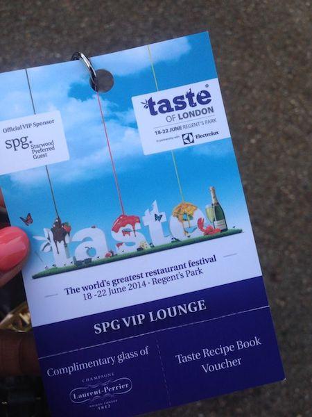 Taste of London Ticket