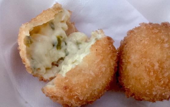 Jalapeños & Cheddar Mac & Cheese Balls