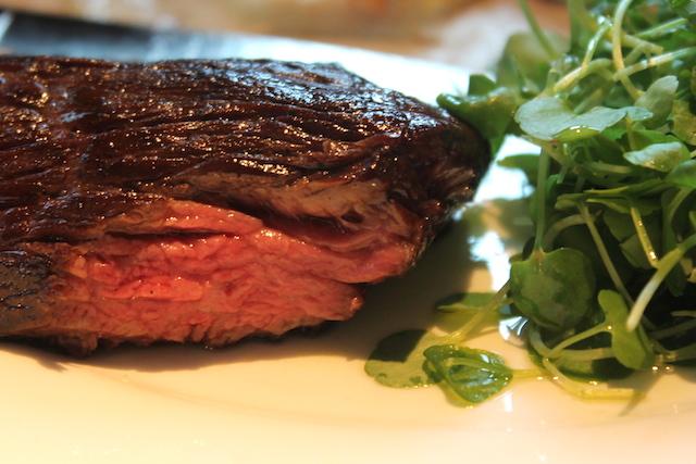 Red Hereford steak