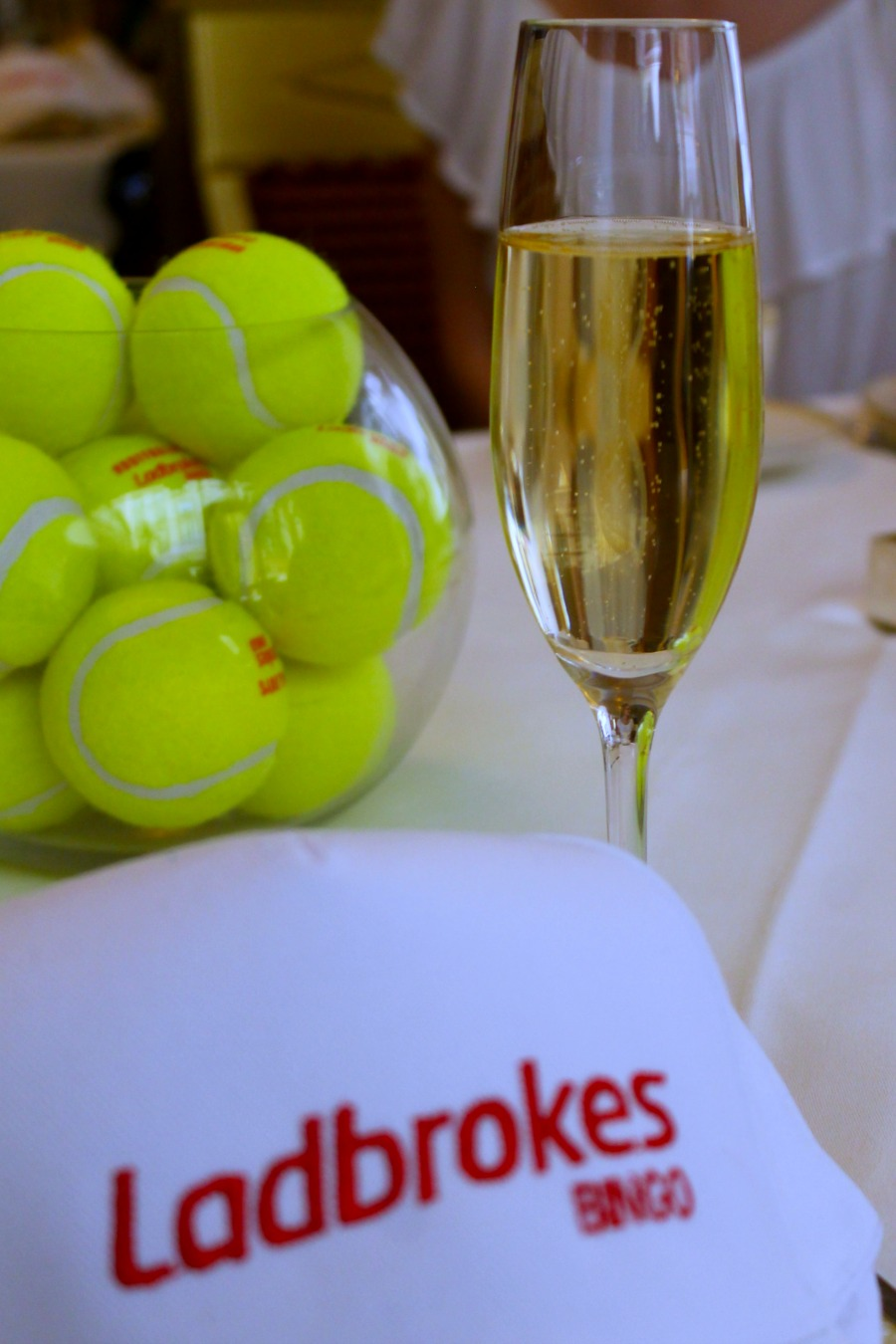 Wimbledon-themed Afternoon Tea by Ladbrokes