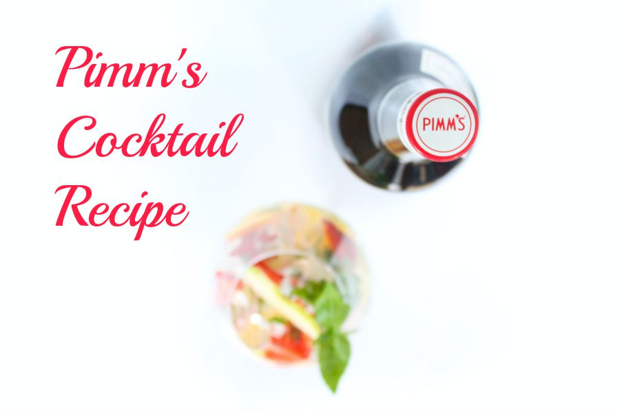 Pimms Cocktail Recipe