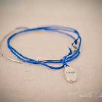 Loving...thread bracelets (step-by-step)