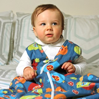 How to Sew a Baby Sleeping Bag – Tutorial
