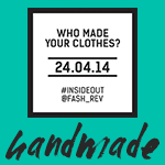 Fashion Revolution Day Handmade