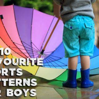 My 10 Favourite Shorts Patterns for Boys