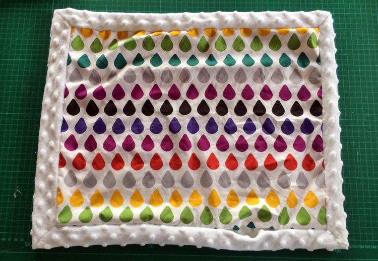 step 17 minky blanket