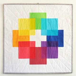 Rainbow Mini Swap – Luminous Quilt