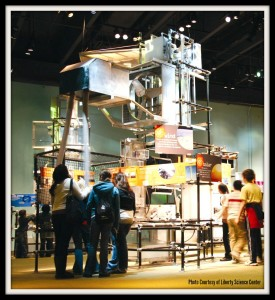 Energy Quest exhibit at Liberty Science Center | Find out more at www.thingstodonewjersey.com | #nj #newjersey #jerseycity #hudsoncounty #libertysciencecenter #science #museums #kids #daytrips #fieldtrips #thingstodo | things to do in Jersey City NJ