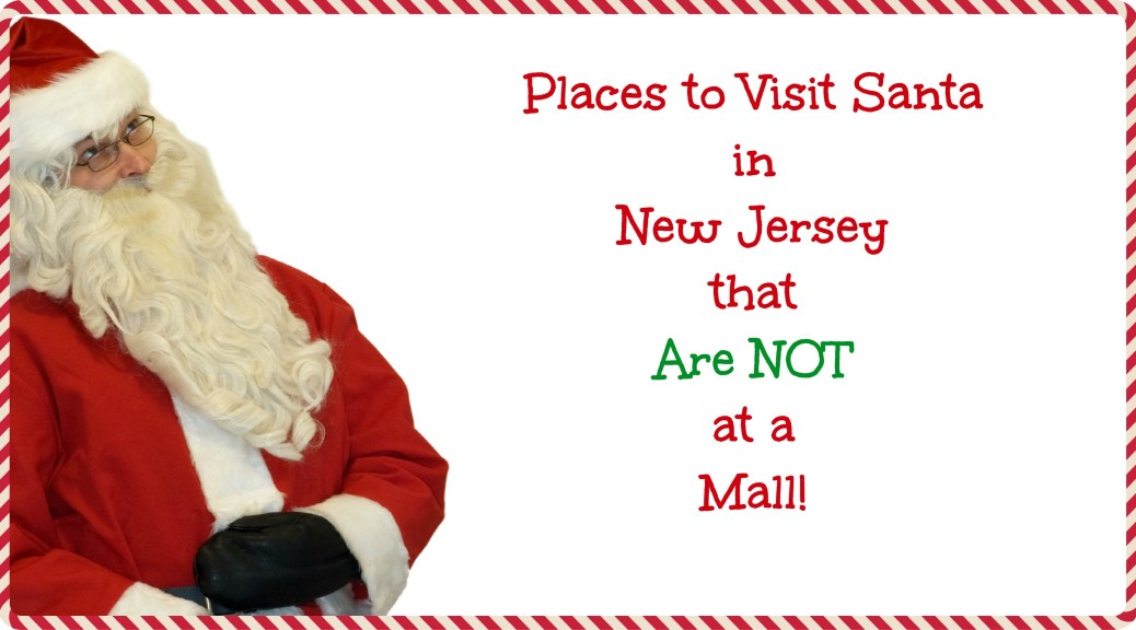 Place to Visit Santa in New Jersey that are NOT a mall! | Find out more at www.thingstodonewjersey.com | #nj #newjersey #santa #visit #see #mall #unique #different #train #christmas #christmasinnewjersey | places to visit santa in nj | places to see santa in nj |places to see santa in new jersey | places to visit Santa in New Jersey