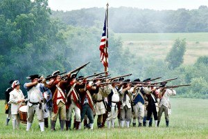 Battle of Monmouth - New Jersey | find out more at www.thingstodonewjersey.com | #nj #newjersey #battlefields #revolutionarywar #historicsites #history #stateparks #reenactments #thingstodo #fun #free #familyfriendly