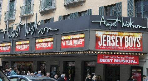 Jersey Boys chronicles the lives and career success of Frankie Valli and the Four Seasons. Valli was born in Newark, NJ | find out more at www.thingstodonewjersey.com | #nj #newjersey #jerseyboys #musicals #frankievalli #famouspeople #history #newark #essexcounty