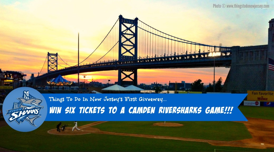 Win 6 Tickets to a 2015 Camden Riversharks home baseball game from Things To Do in New Jersey!!!   find out more at www.thingstodonewjersey.com   #nj #newjersey #camden #riversharks #campbellsfield #baseball #minorleague #giveaway #tickets #thingstodo #fun #familyfriendly #affordable