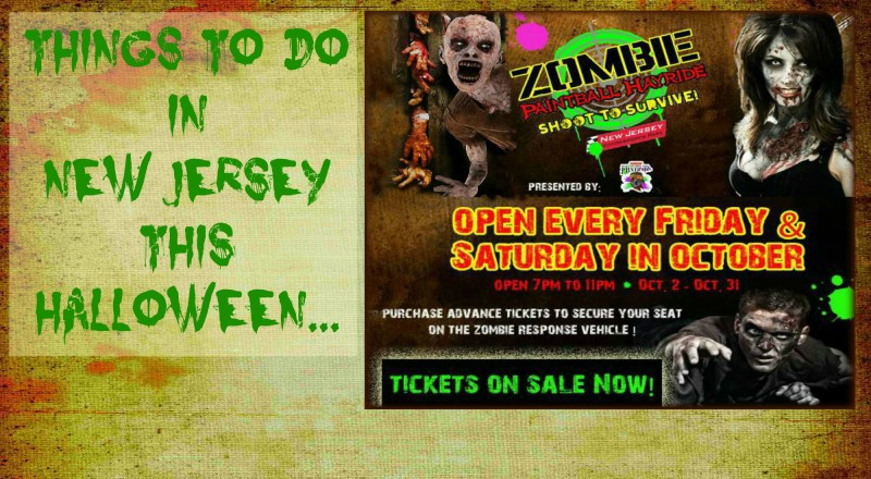 Halloween In New Jersey - Zombie Paintball Hayride at NJ Motorsports Park