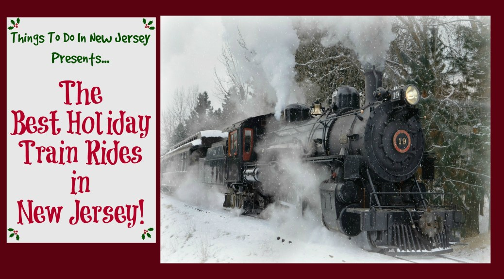 New Jersey is home to a number of scenic railways offering magical holiday train rides this holiday season! Enjoy hot chocolate and cookies, sing some holiday songs, and meet Santa!!! Learn more at www.thingstodonewjersey.com | #nj #newjersey #holiday #christmas #trainrides #kids #events #activities #familyfriendly #whippany #allaire #allairestatepark #wall #blackriverwestern #flemington #hunterdoncounty #monmouthcounty #morriscounty #capemaycounty #richland #tuckahoe #polarexpress #traditions #celebrations #thingstodo | holiday train rides in nj | holiday train rides in new jersey | santa train rides in nj | santa train rides in new jersey | polar express nj | polar express new jersey | ride train with santa nj | ride train with santa in new jersey