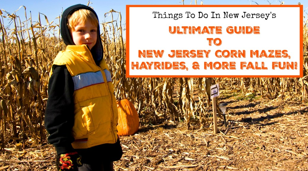40+ Places to Enjoy New Jersey Corn Mazes, Hayrides, and More Fall Fun on New Jersey farms! | find out more at www.thingstodonewjersey.com | New Jersey hayrides | New Jersey hay rides |NJ hayrides | NJ hay rides | NJ corn mazes | NJ pumpkin picking hayrides | NJ corn mazes
