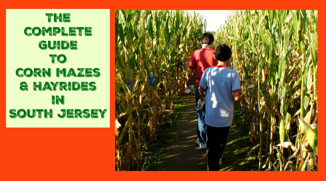 Looking for family friendly South Jersey hay rides, corn mazes, and other kid friendly fall activities? Visit one of these a-maze-ing farms for South Jersey corn mazes, fall festivals, and hay rides that the entire family will love!| South Jersey corn mazes | South Jersey hayrides | South Jersey hay rides
