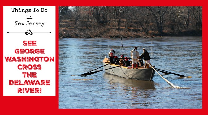 See George Washington Cross the Delaware River!