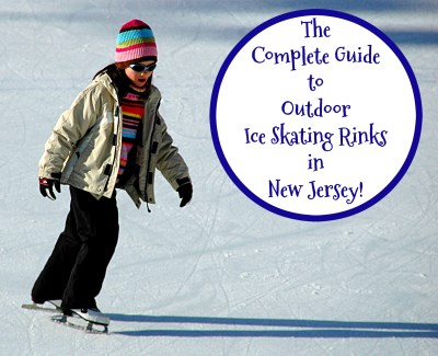 Lace up your skates and enjoy some wintery fun at these NJ outdoor ice skating rinks! | outdoor ice skating rinks in new jersey | outdoor ice skating rinks in nj | places to go ice skating in nj | places to go ice skating in new jersey
