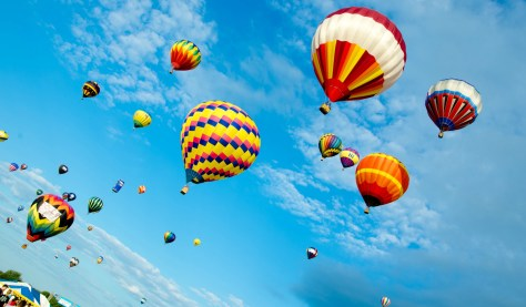 The QuickChek New Jersey Festival of Ballooning in Hunterdon County is a NJ summer tradition. | nj balloon festival | new jersey balloon festival | quickchek balloon festival