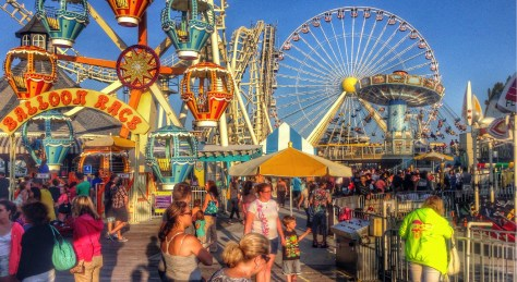 The Wildwood NJ boardwalk was voted the best boardwalk in NJ by Things To Do In New Jersey voters. | best boardwalk in new jersey | what is the best boardwalk in nj | best boardwalk in nj for kids | best boardwalk in new jersey for kids | best boardwalk at jersey shore