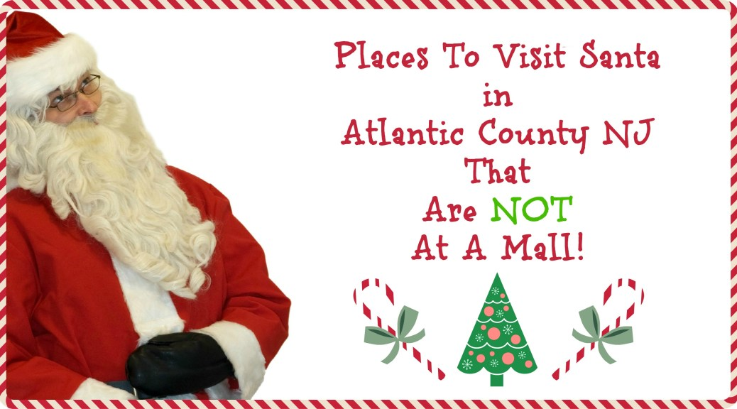 Places to Visit Santa in New Jersey that are NOT a mall! | Find out more at www.thingstodonewjersey.com | #nj #newjersey #santa #visit #see #mall #unique #different #train #christmas #christmasinnewjersey | places to visit santa in nj | places to see santa in nj | places to see santa in new jersey | places to visit Santa in New Jersey | places to visit Santa in Atlantic County NJ
