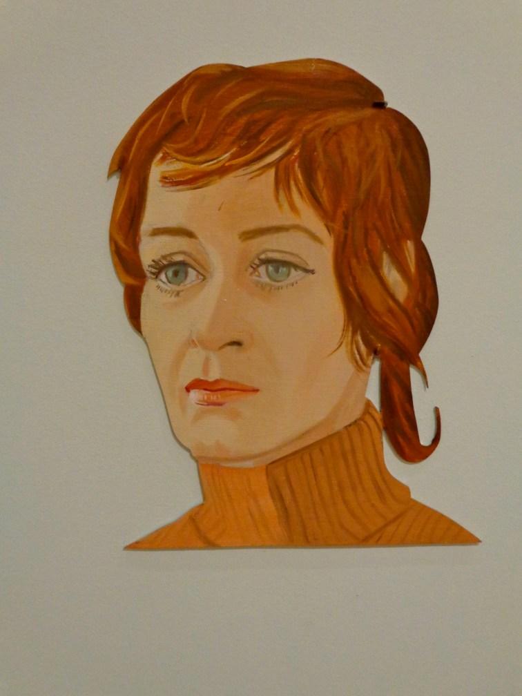"""Detail, Alex Katz, """"Rush,"""" 1971"""