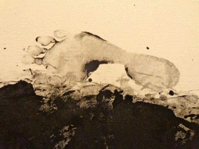 """Detail, Annette Lemieux, """"Pacing,"""" 1988"""
