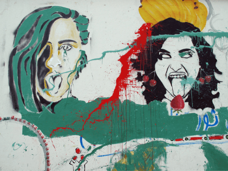 """Exorcism"" (detail) Ghadir Wagdy Mansoura, 2013"