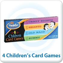 4 Children's Card Games Featured