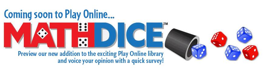 Take A Math Dice Survey