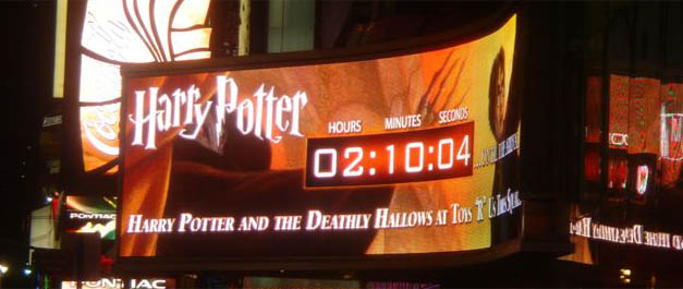Harry Potter Countdown